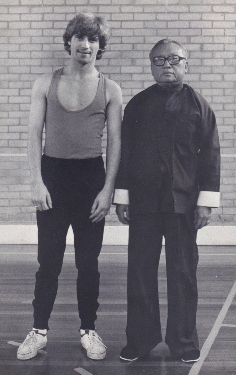 Jon Braeley and Taichi master