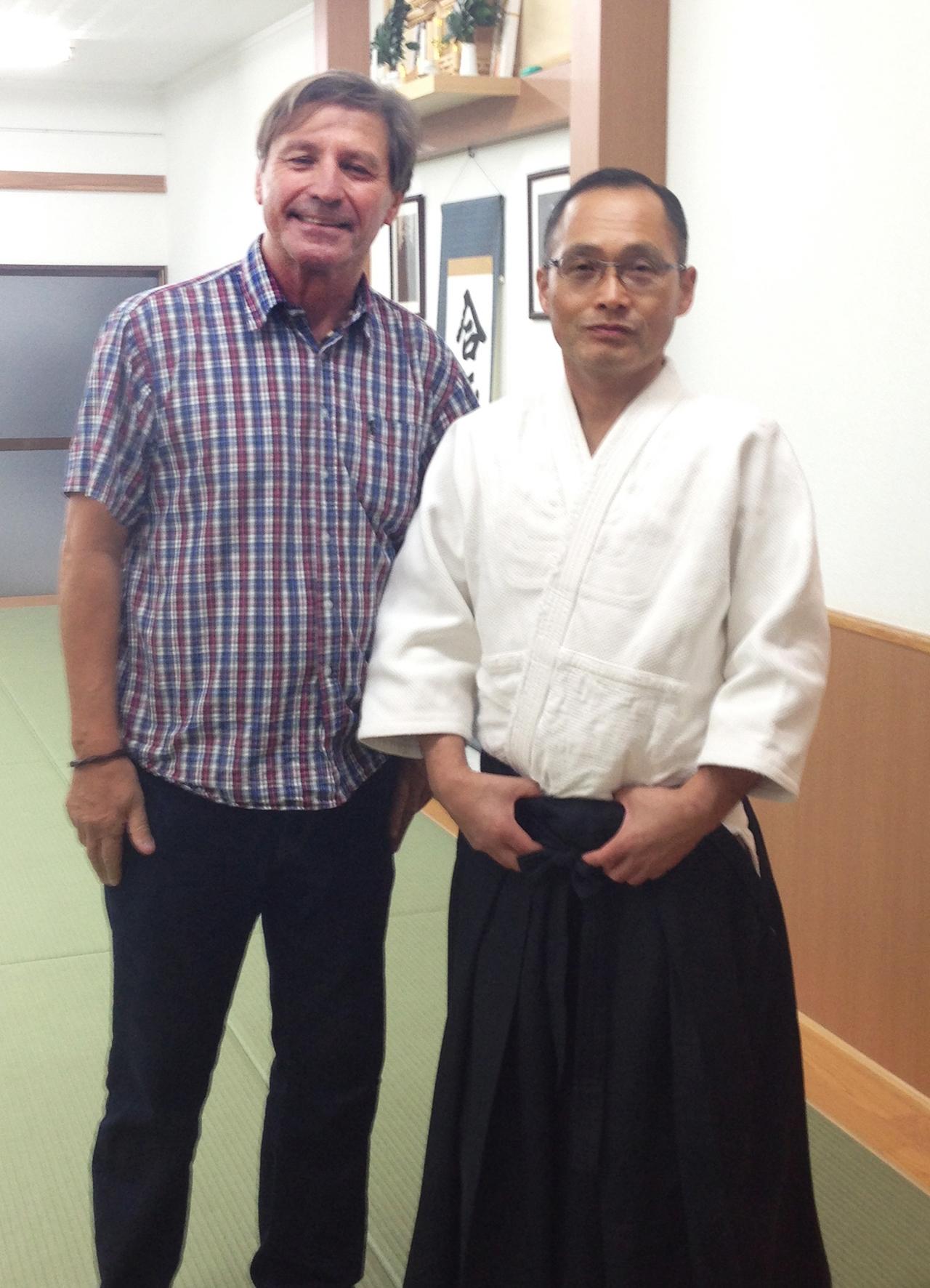 Tsuneo Ando, Yoshinkan Aikido Ryu, Tokyo