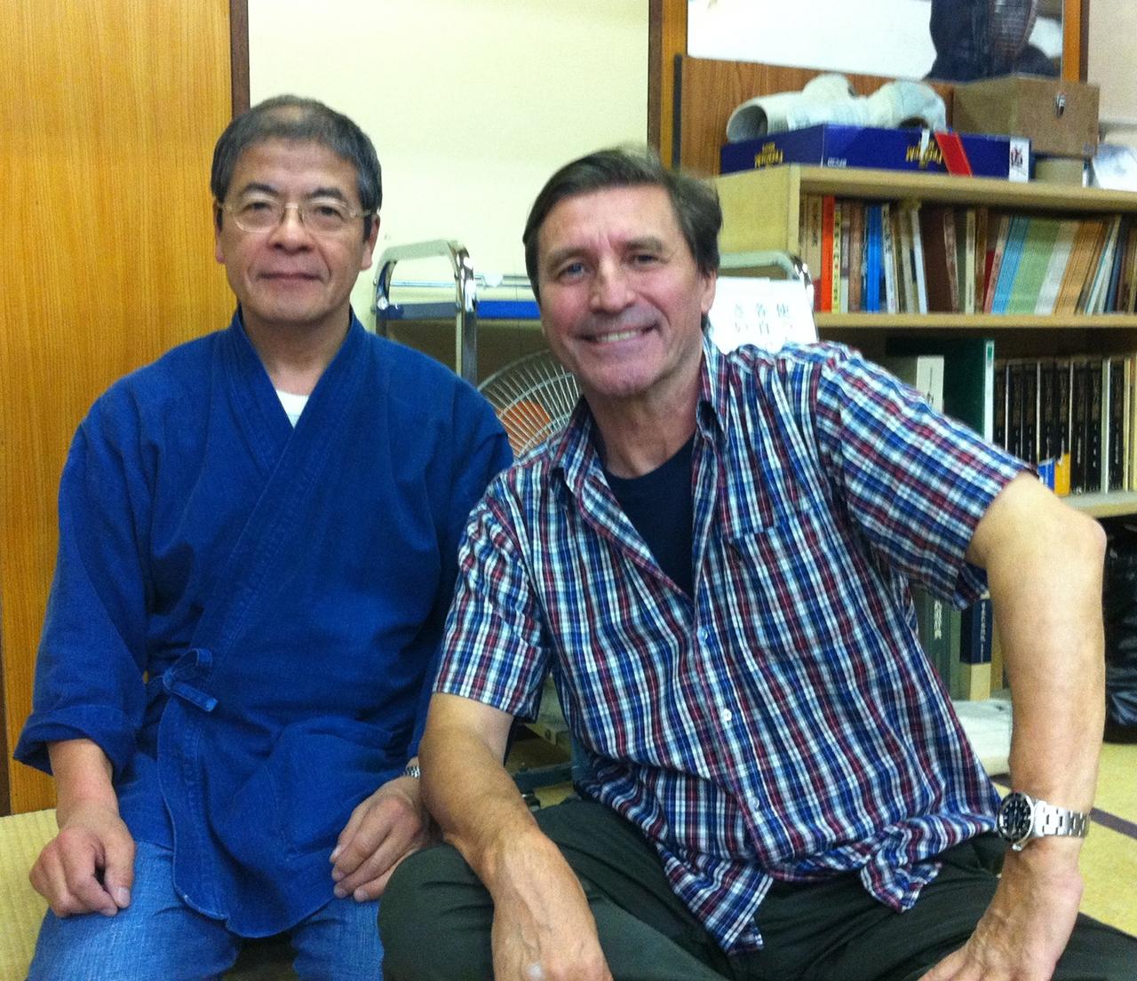 Hiroshi Ozawa sensei, 8th dan Kendo