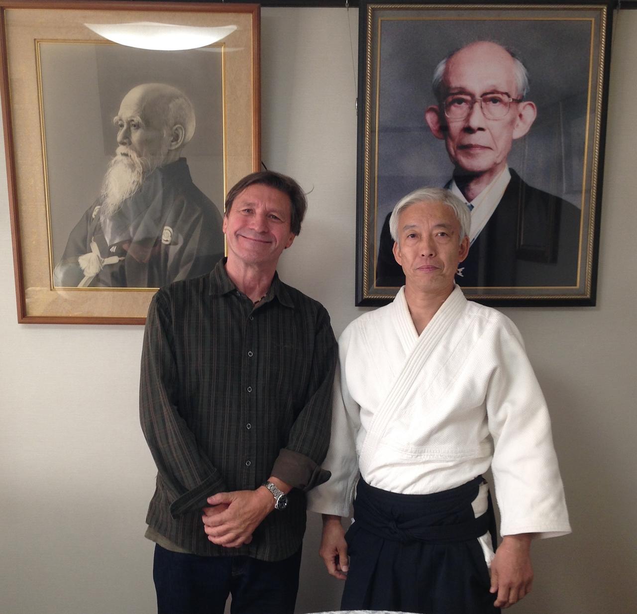 Moriteru Ueshiba 'Doshu', of Aikikai Foundation