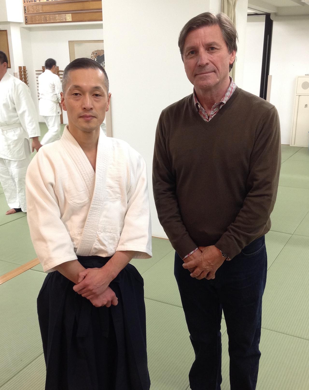 Chino Susumo, Yoshinkan Aikido Hombu Dojo