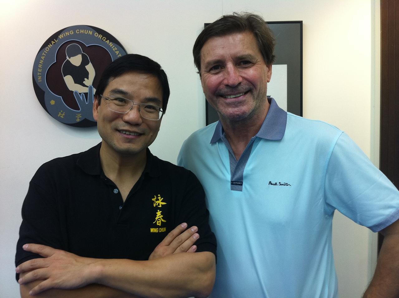 Sifu Donald Mak, Wing Chun master, Hong Kong