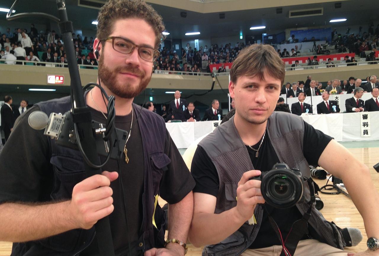 Juandiego Fonseca and Baptiste Tavernier, Japan Kendo Championships, 2014