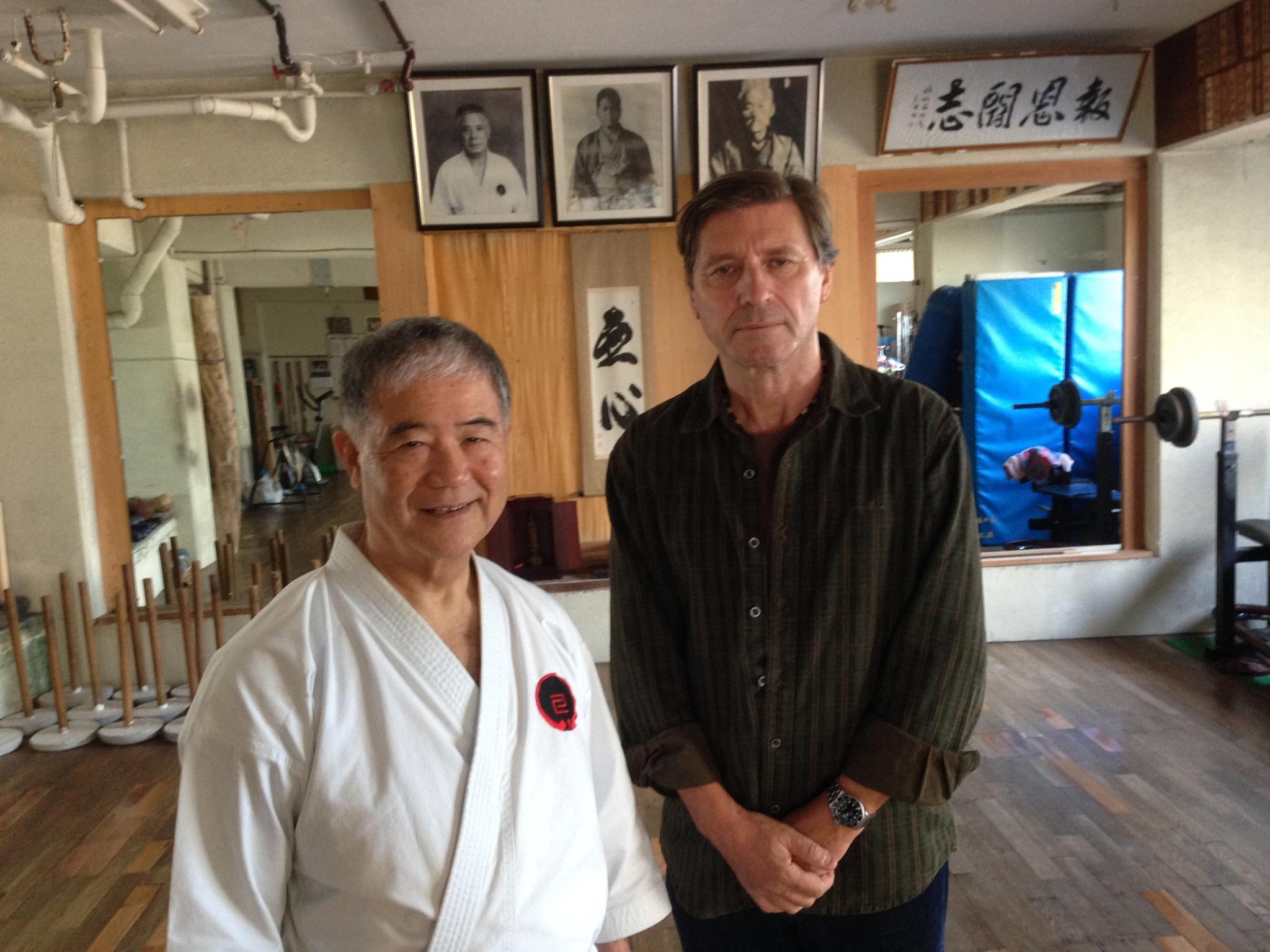 Morio Higaonna, 10th dan Goju ryu Karate