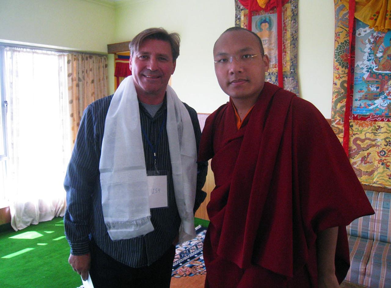His Holiness Gyalwang Karmapa, head of the Karma Kagyu