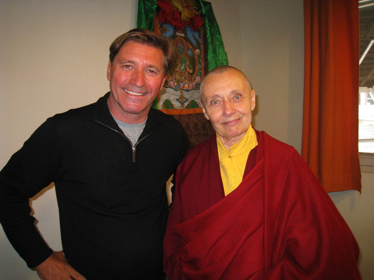 Jetsunma Tenzin Palmo founder of the Dongyu Gatsal Ling Nunnery