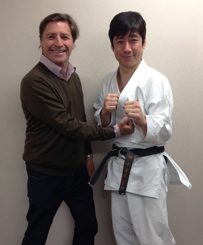 Tatsuya Naka, 7th dan. Japan Karate Association