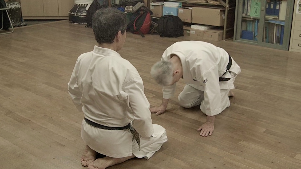 Resultado de imagen de karate seiza