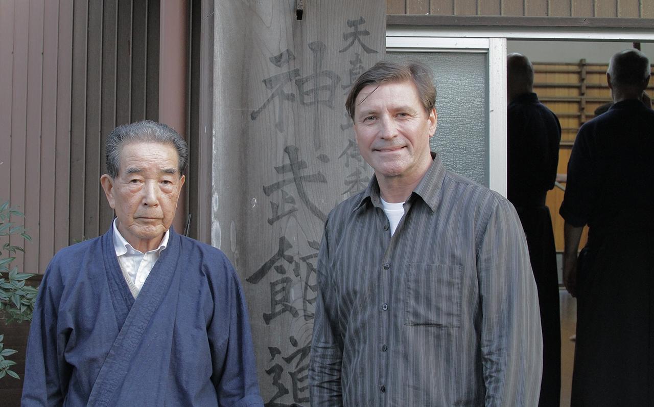 Risuke Ōtake, Tenshin Shōden Katori Shintō-ryū, Chiba