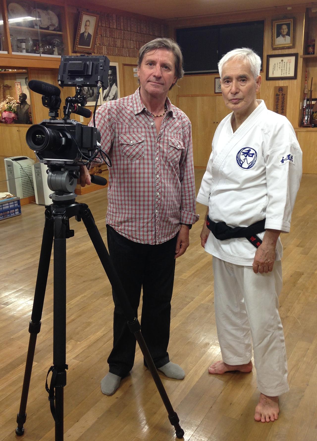 Master Hironori Ohtsuka, Wado Ryu Karate Hombo Dojo