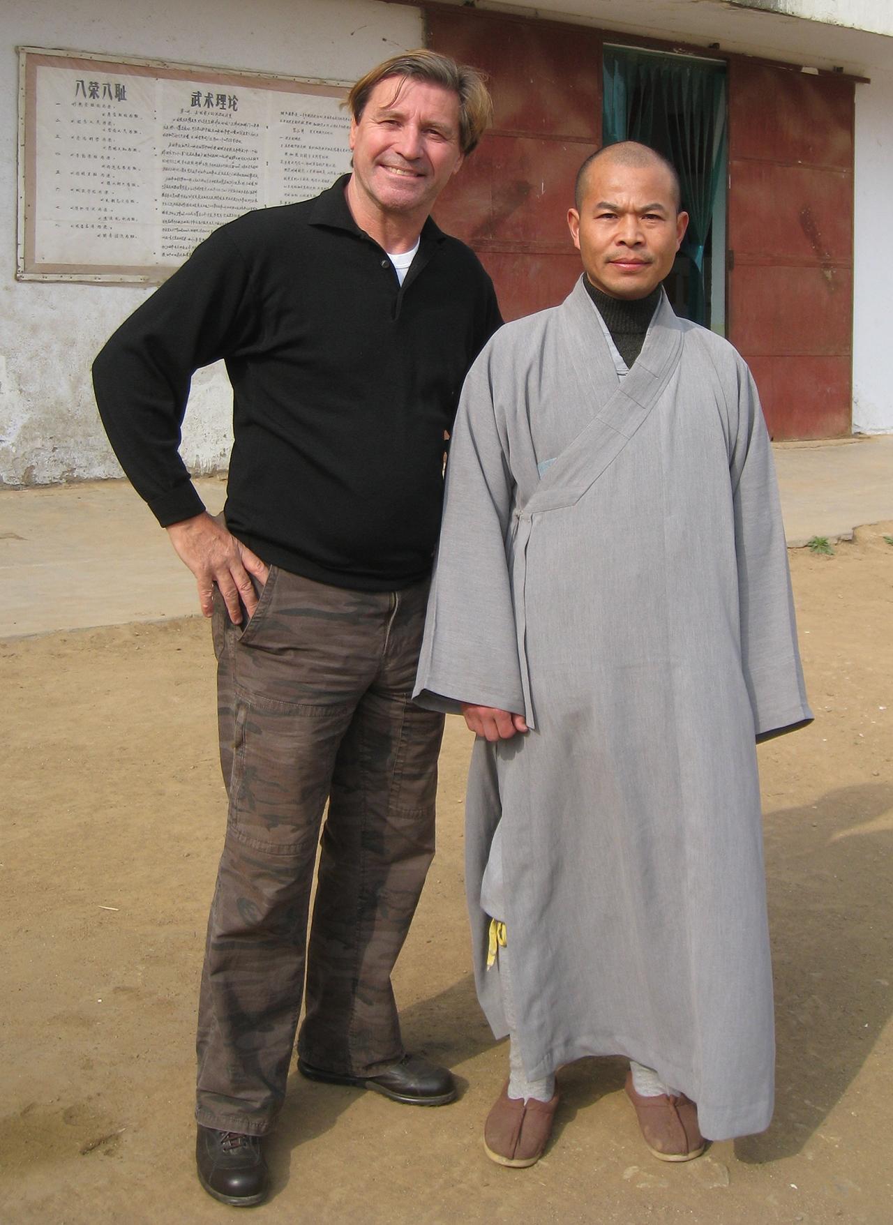 Monk Shi De Yang, Shaolin Temple