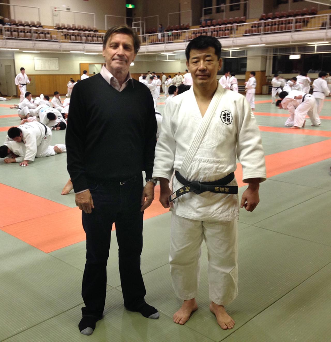 Mukai Sensei of Kodokan Judo, Tokyo