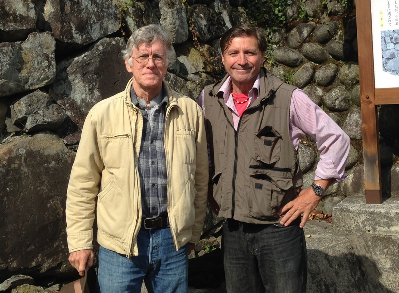 William Scott Wilson, author, on the historical Kiso Valley route, Japan
