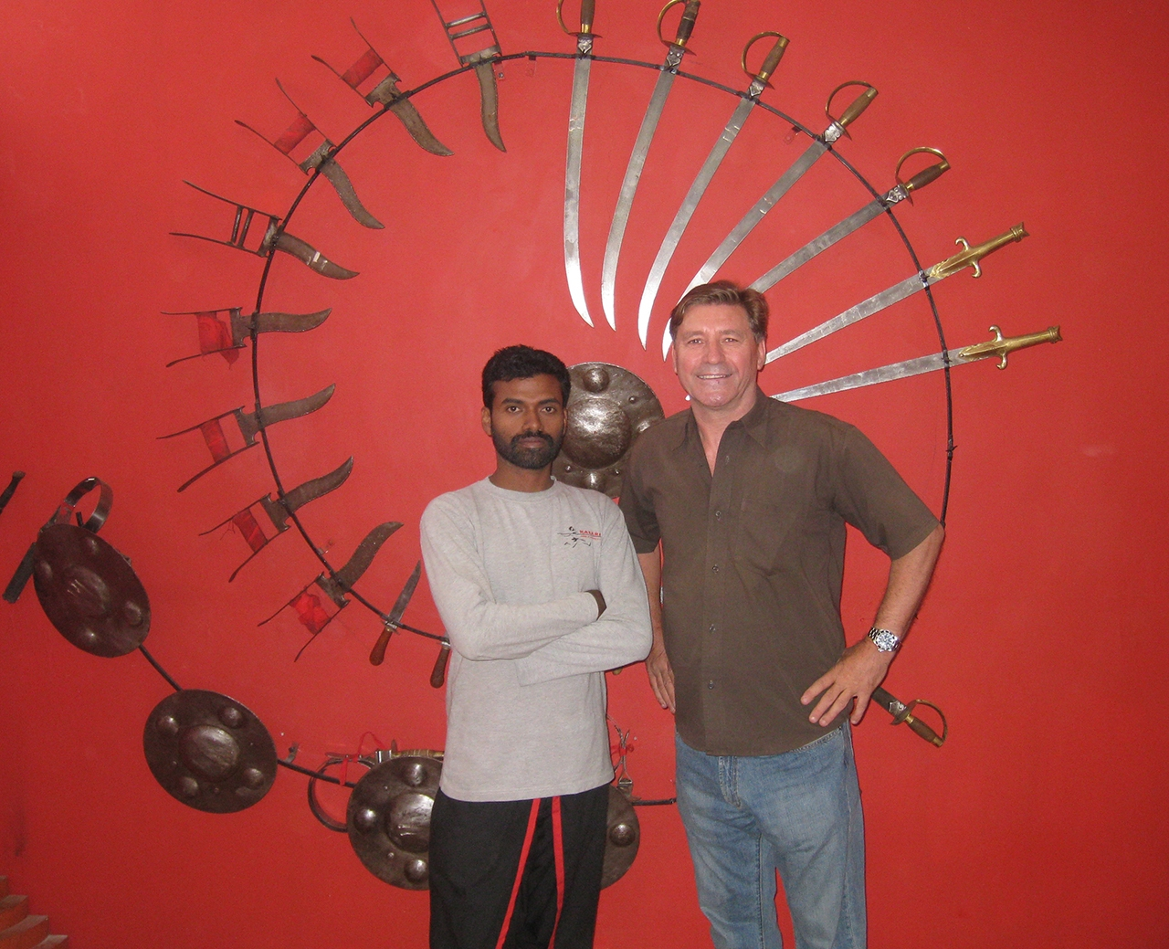 Kalaripayattu master, Bangelore, India