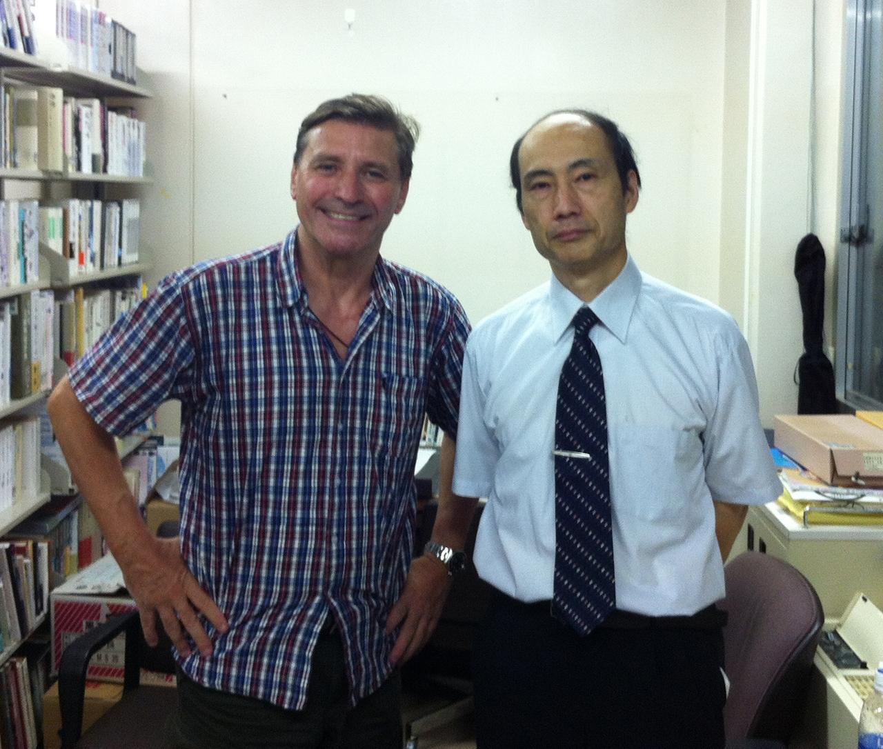 Professor Takashi Uozumi, Budo University, Chiba