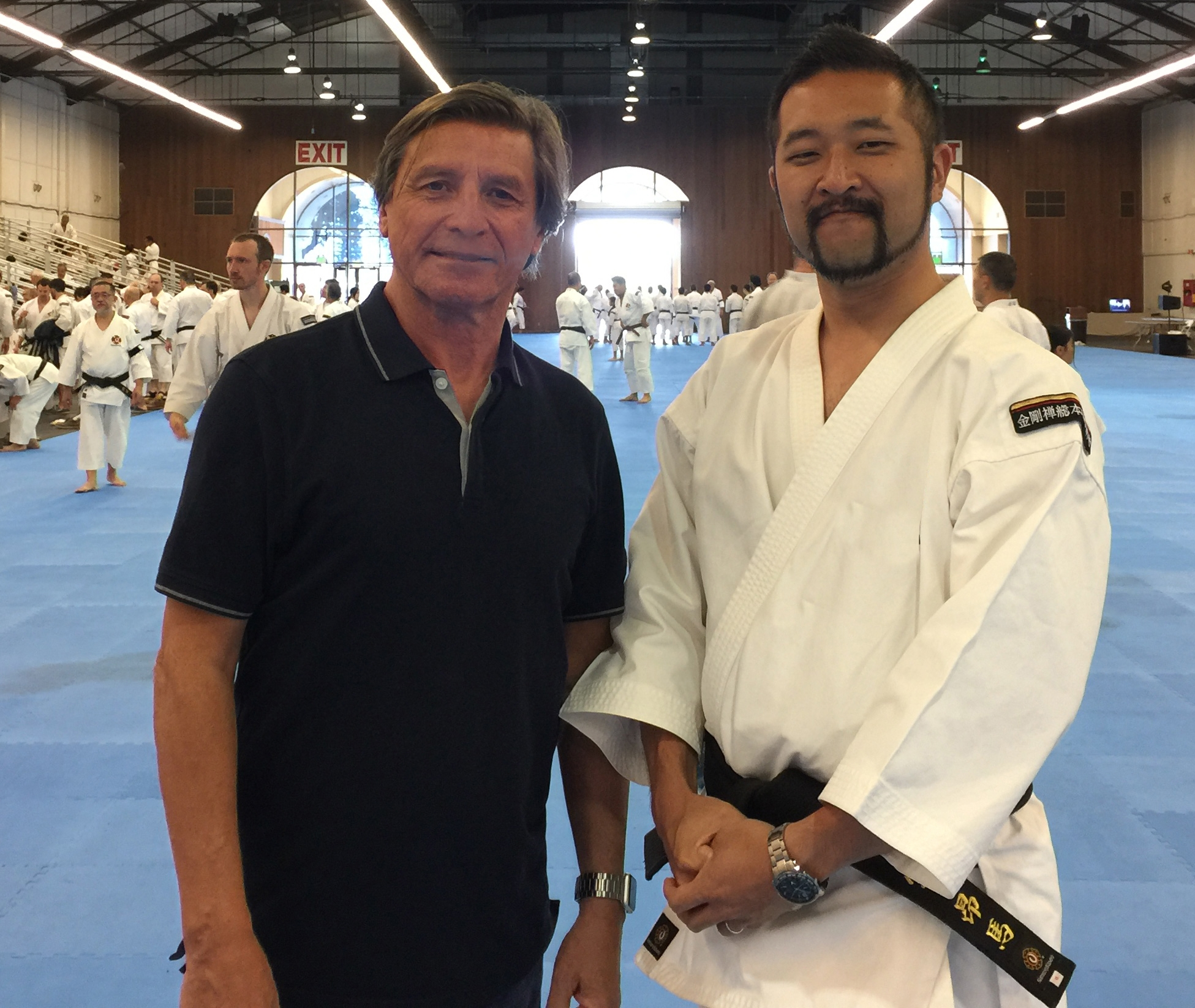 Grandson of Shorinji Kempo Founder, Doshin So