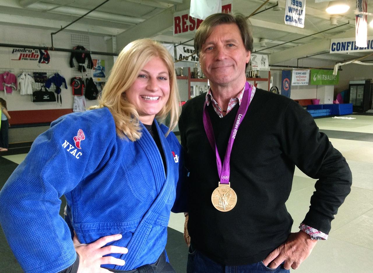 Kyla Harrison, Judo Olympic Gold, 2012, 2016