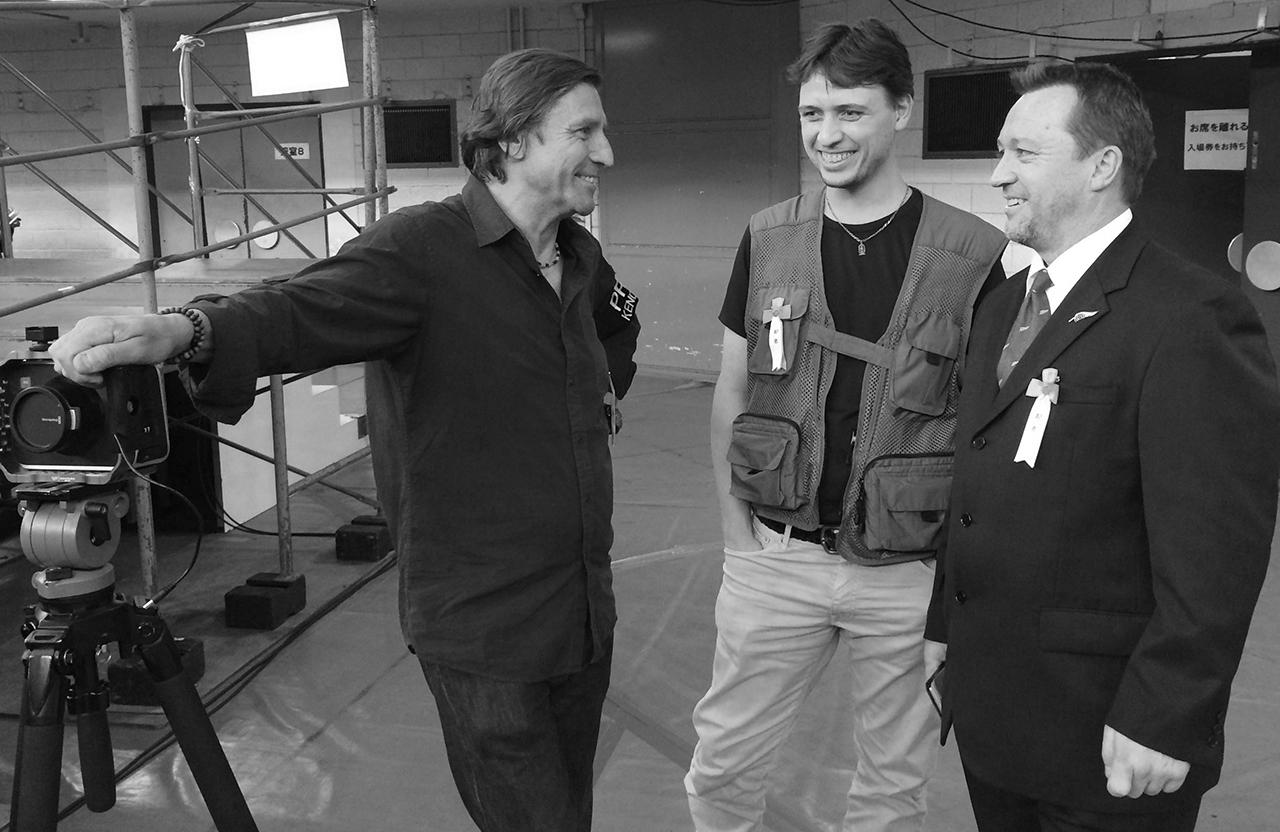 Jon Braeley, Baptiste Tavernier & Alex Bennett